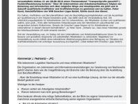 Kommentar von J.F. zum Win Emscher Lippe Artikel